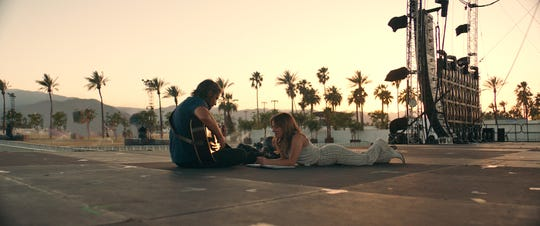 "Bradley Cooper and Lady Gaga star in ""A Star Is Born,"" which officially opens nationwide on Friday."