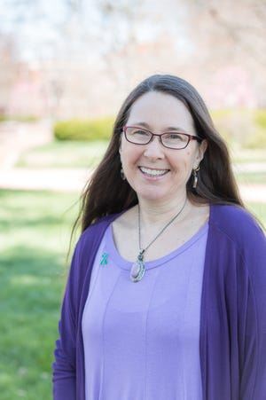 Joanne Sampson coordinates violence prevention in the University of Delaware's Office of Student Wellness and Health Promotion