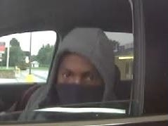 Security footage of suspect No. 1 in three attempted burglaries in Brandywine Hundred on Aug. 21.
