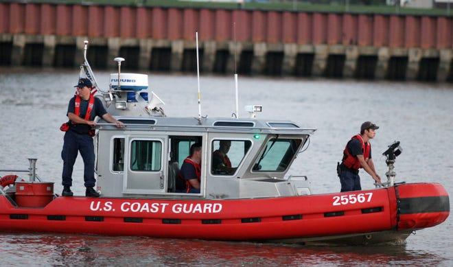 A U.S. Coast Guard vessel