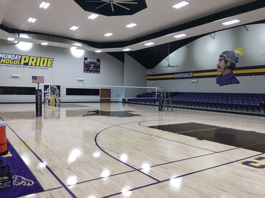 Munday's new gym is one of three buildings recently constructed thanks to a bond.