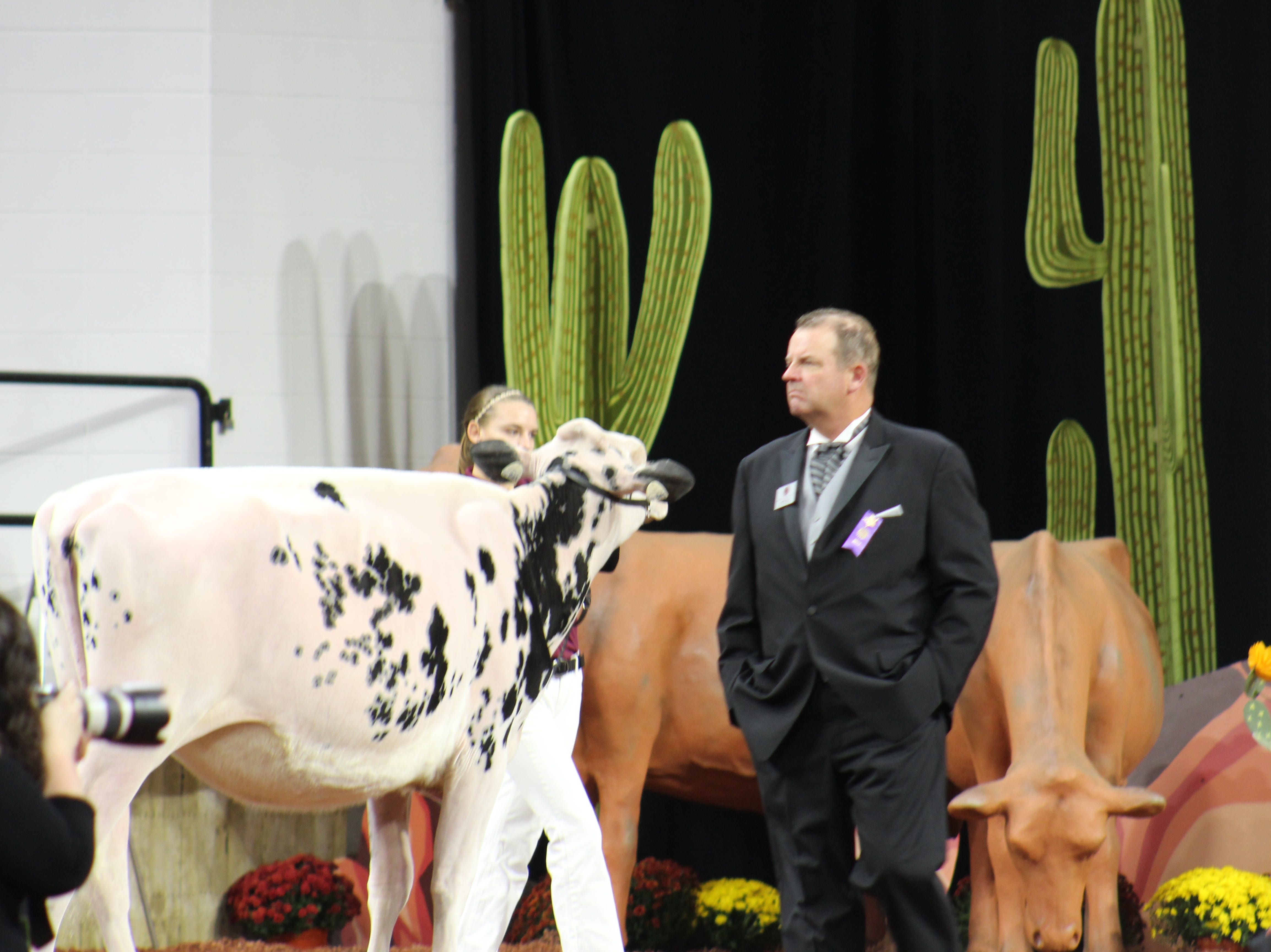"""This year's theme of the 2018 World Dairy Expo was """"The Next Frontier""""."""