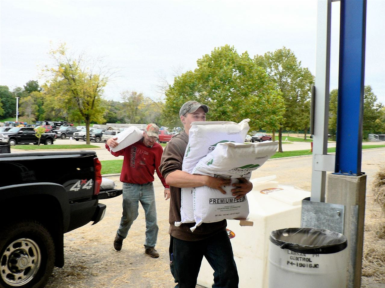 Before the doors open for the 52nd World Dairy Expo, there's lots of work to do