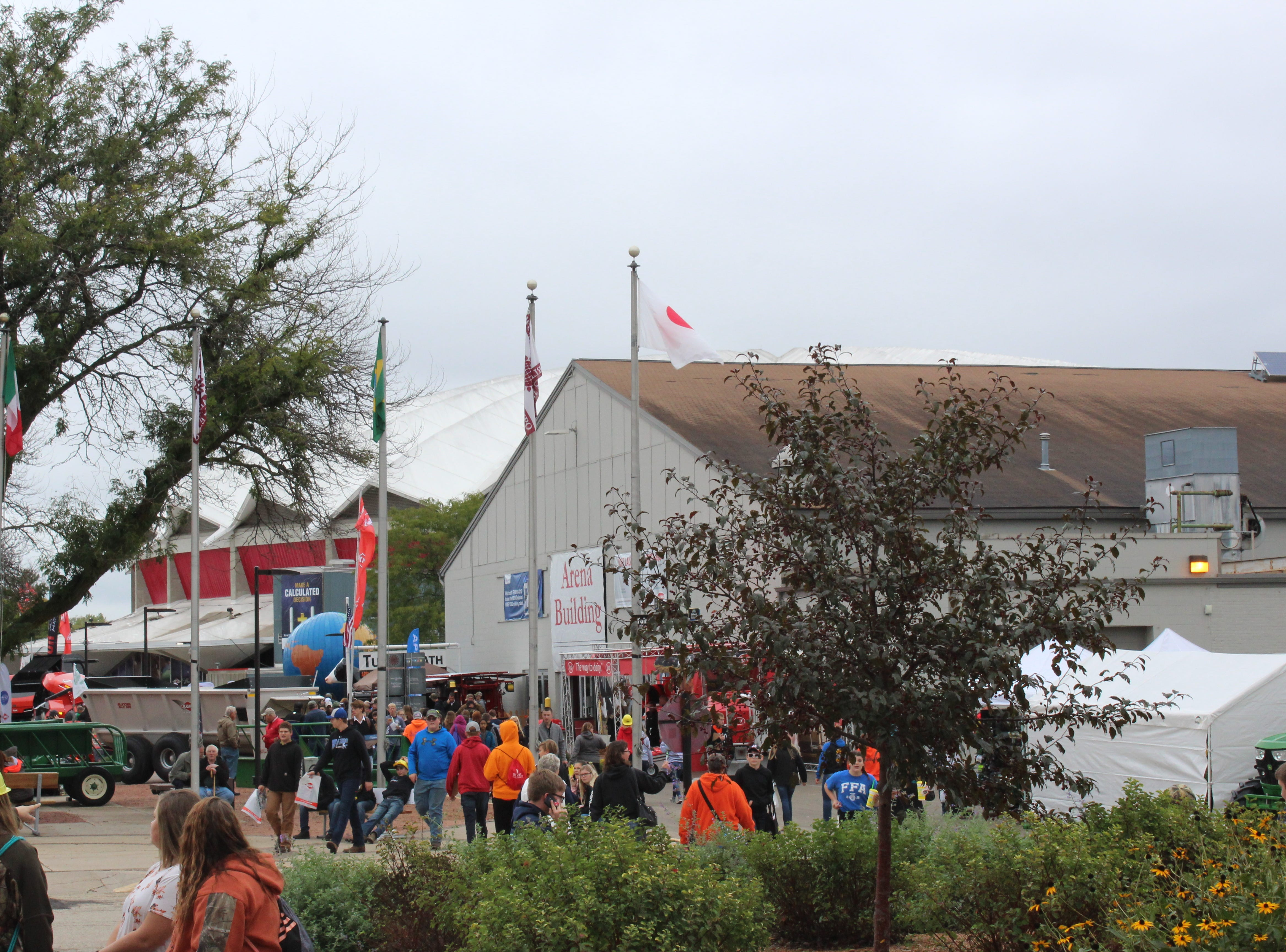 Opening day at the 2018 World Dairy Expo.