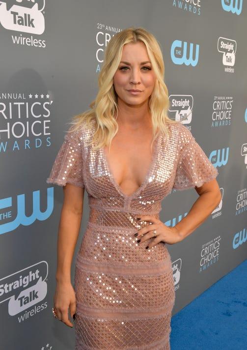 f22450754e47 Big Bang Theory  star Kaley Cuoco voices Harley Quinn in new cartoon