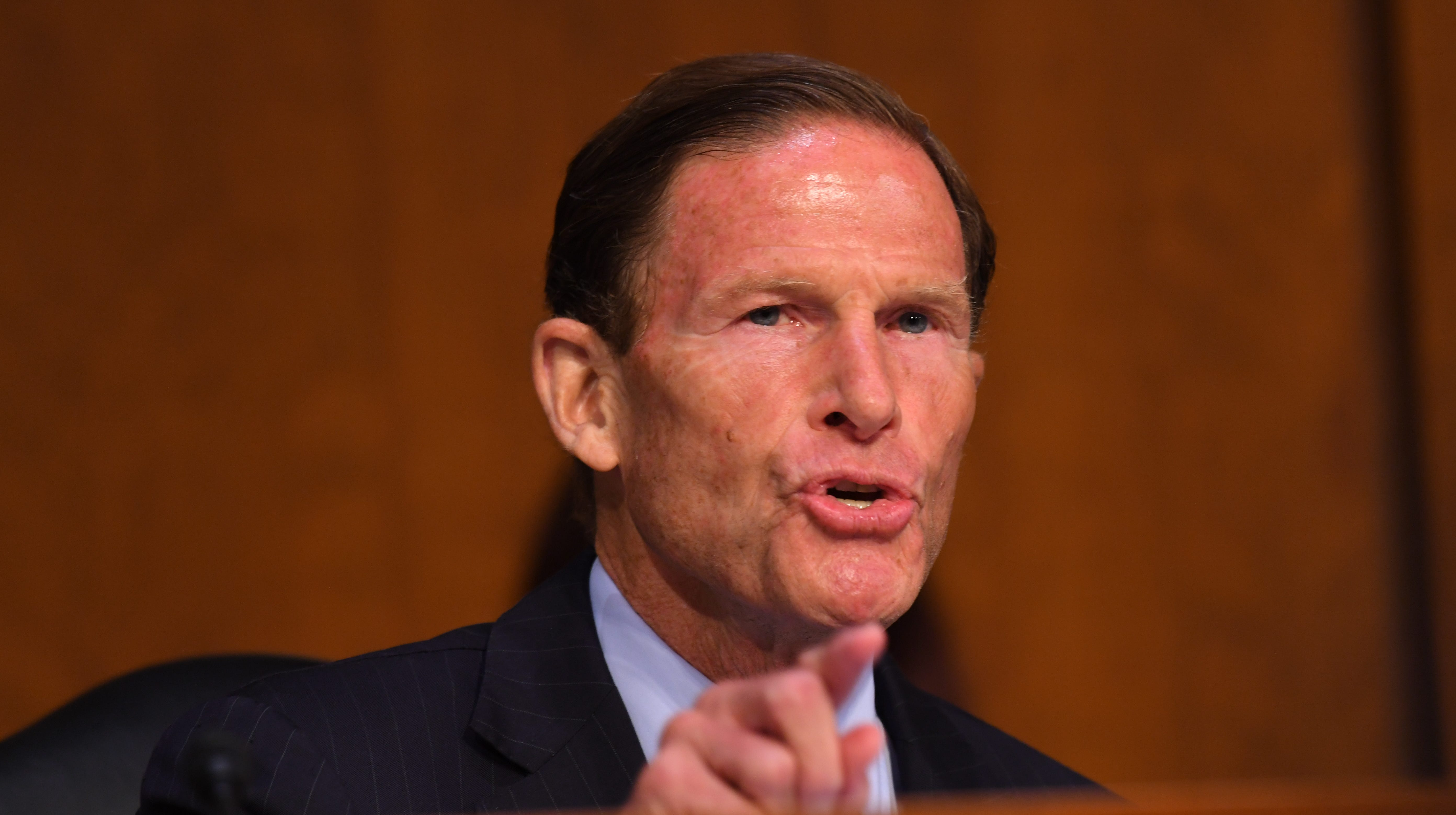 Before hearing on sex abuse in sports, Richard Blumenthal condemns Trump mocking Blasey Ford