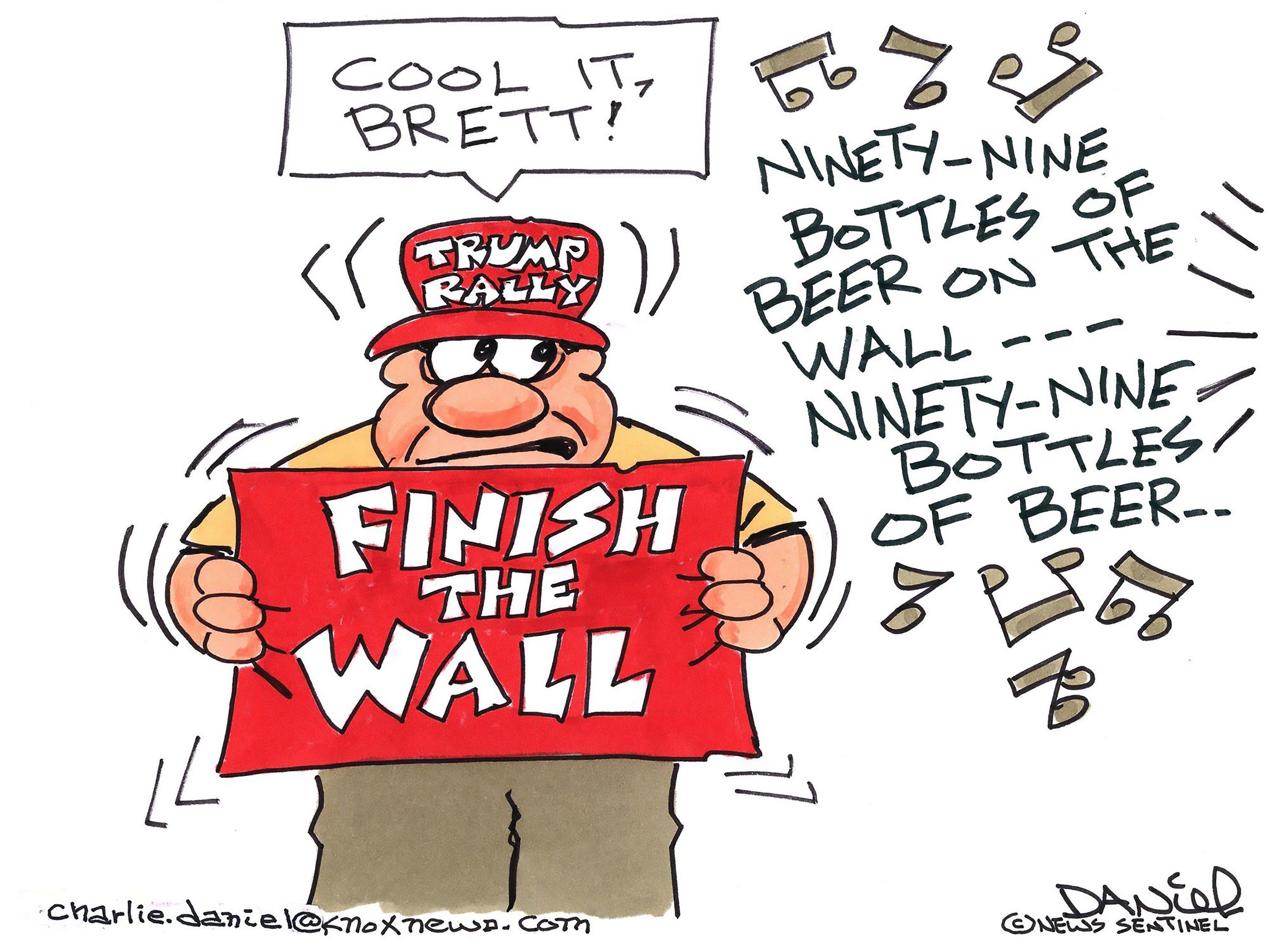 The cartoonist's homepage, knoxnews.com/opinion/charlie-daniel