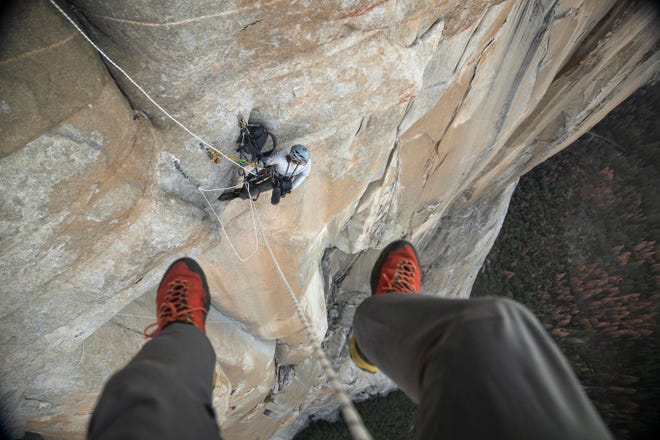 Here's a glimpse of what it Yosemite looks like from the perspective of a climber/videographer.