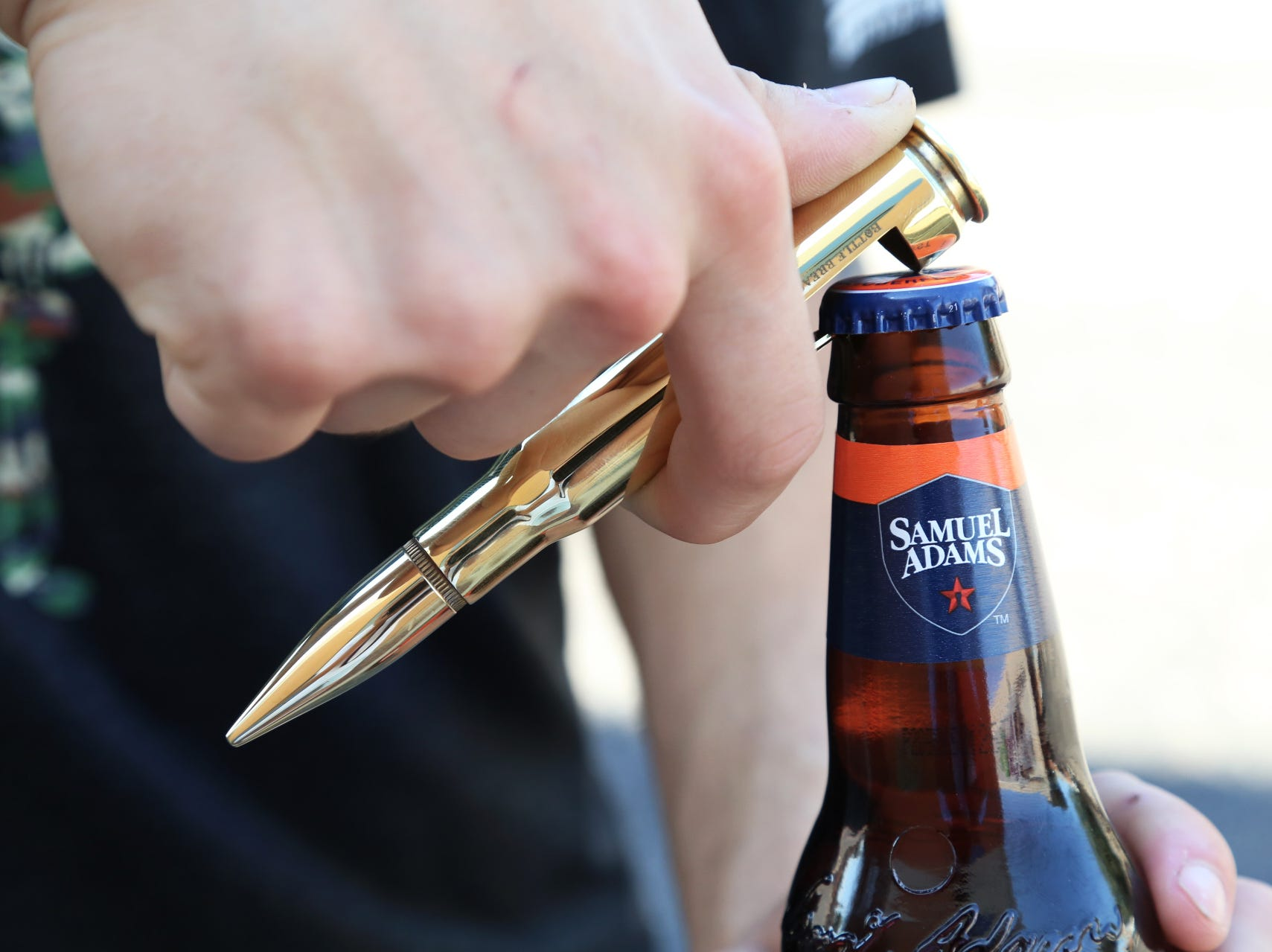 16. Bottle Breacher What it is: Bullet-shaped bottle openers Pitched on: 11/7/14 Shark: Kevin O'Leary Offer/stake: $150,000/20% ​​​​​​​Sales: $17 million