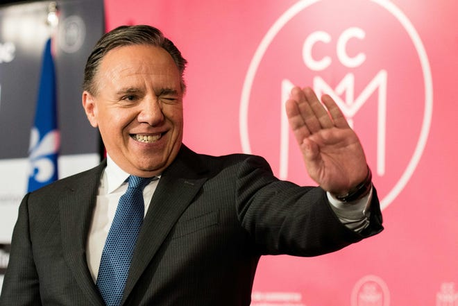François Legault party leader of the Coalition Avenir Québec (CAQ), won Quebec elections on October 1st, 2018, an anti-immigrant and nationalist platform.