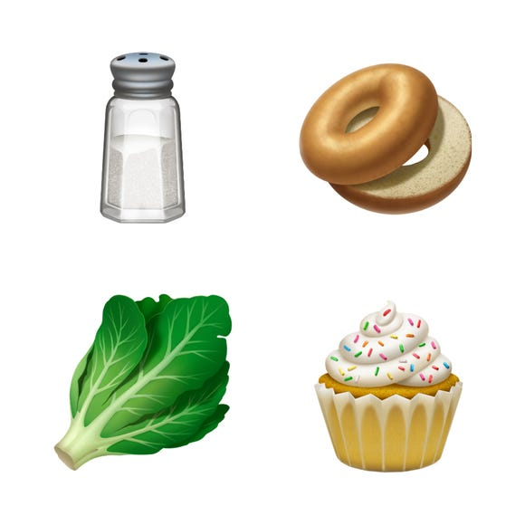 iOS 12.1 will also add a cupcake and bagel emoji.