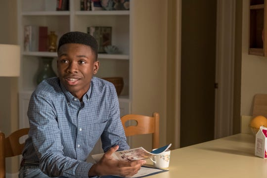 """Niles Fitch as teen Randall Pearson on """"This Is Us."""""""