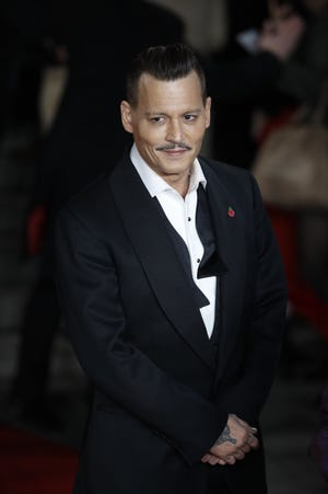 Johnny Depp, photographed in November, has spoken about abuse allegations in a new interview.