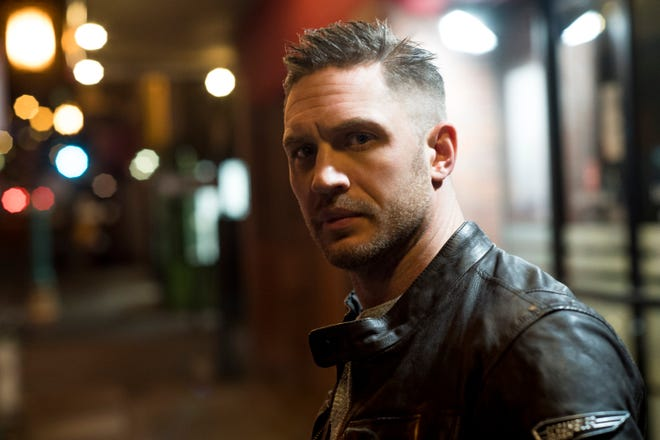 "In ""Venom,"" Tom Hardy plays the amorphous, carnivorous parasite who slimes into San Francisco and into the body of an investigative journalist named Eddie Brock (also played by Hardy)."