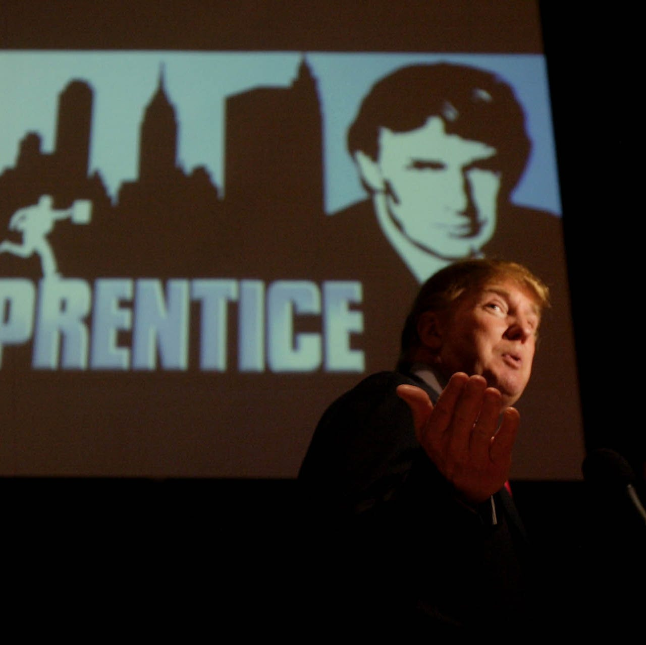 Donald Trump, even with all his daddy's money, is the real apprentice