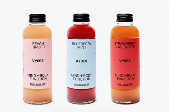 The Vybes drink, which became available this year, has 15mg of hemp CBD and is sold at hundreds of retailers nationally.