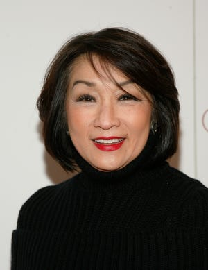 """Journalist Connie Chung attends a screening of """"Girls Rising"""" on Wednesday March 6, 2013, at the Paris Theater in New York."""