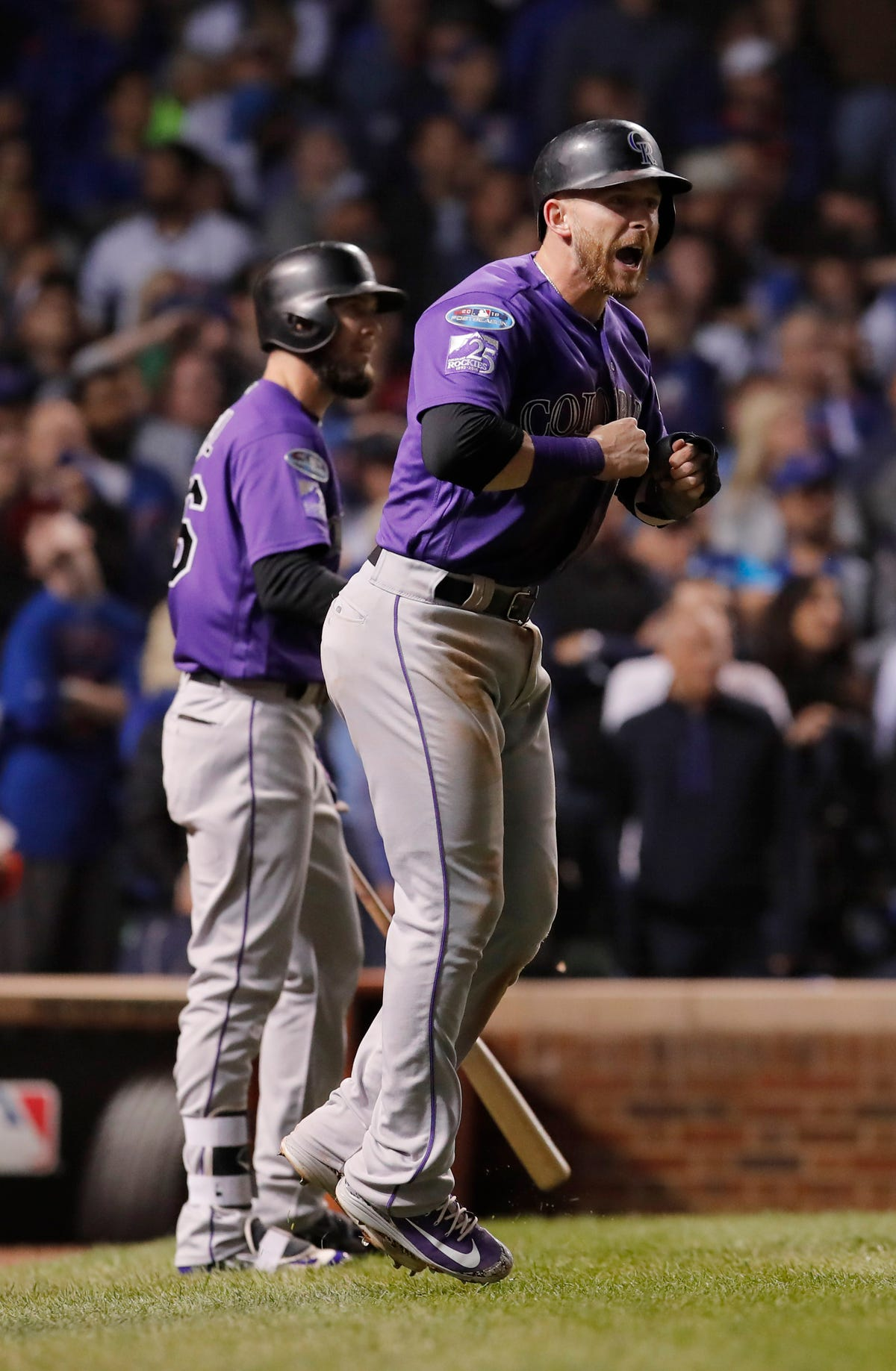 Mlb Playoffs Rockies Beat Cubs In Nl Wild Card Advance To Nlds