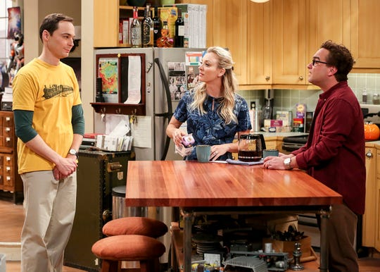 """""""The Big Bang Theory"""" actress Kaley Cuoco is in her 12th season - the show's last - playing Penny opposite Jim Parson's Sheldon and Johnny Galecki's Leonard."""