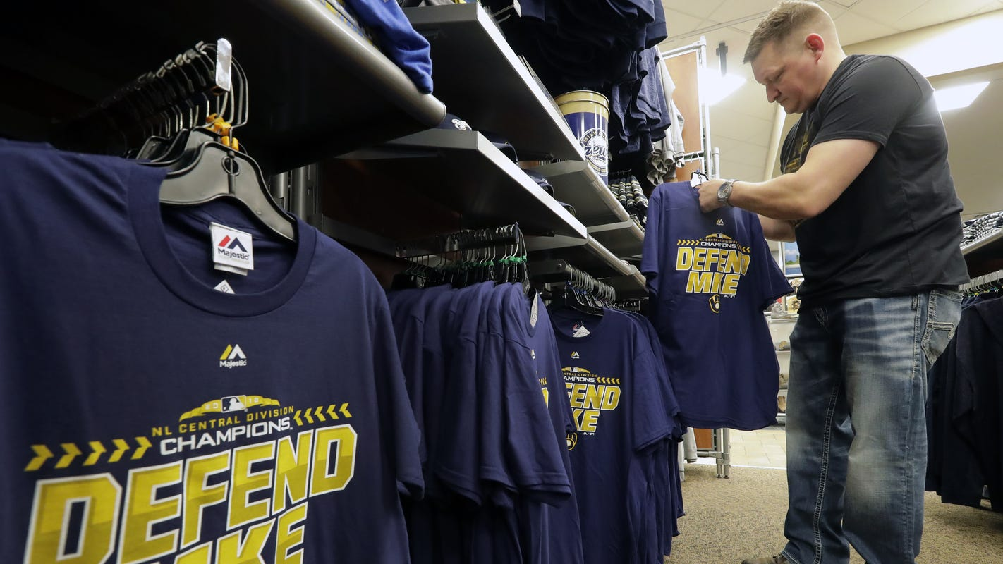 info for 81f30 c7539 Milwaukee Brewers playoffs boosts Fox Valley business | The Buzz