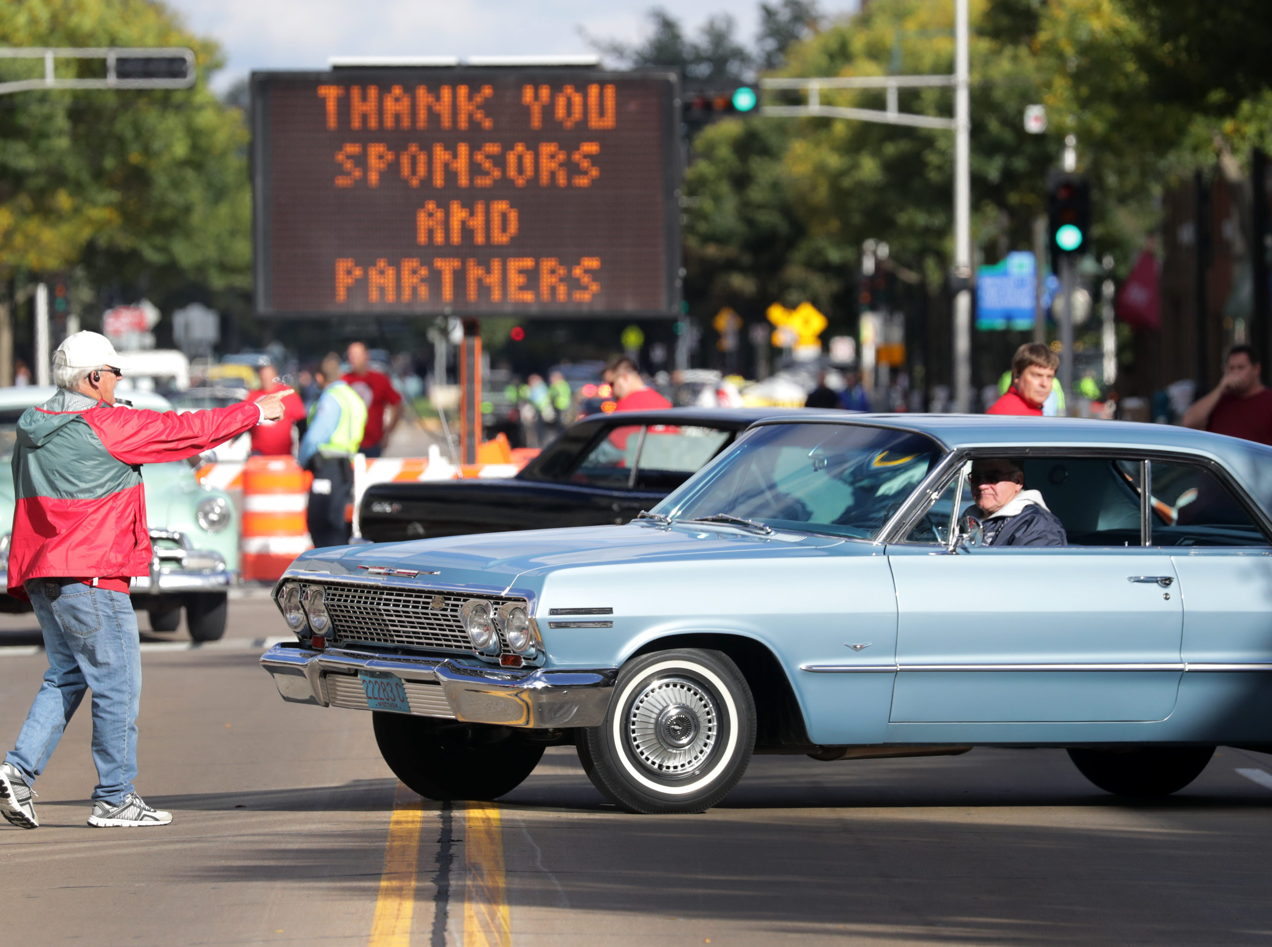 during the annual License to Cruise car show on Friday, September 28, 2018, on College Ave. in Appleton, Wis. Wm. Glasheen/USA TODAY NETWORK-Wisconsin.