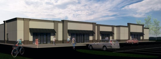 A new multi-tenant building is under construction in Hortonville.