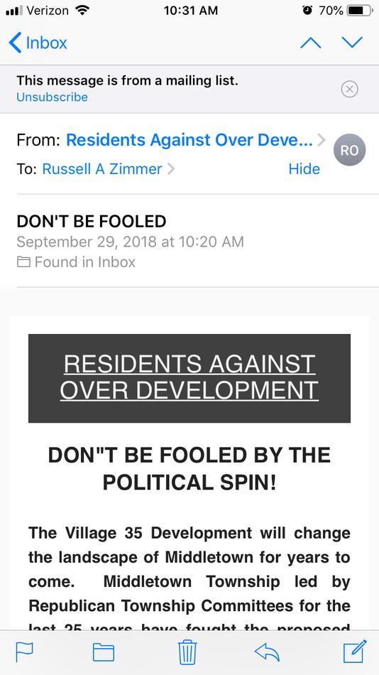 email screencap