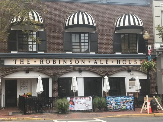 The Robinson Ale House on Broad Street in Red Bank is a member of restaurateur Tim McLoone's family of restaurants.