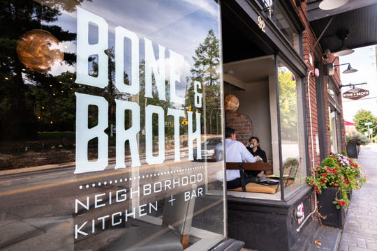 Bone and Broth restaurant on Charlotte Street.