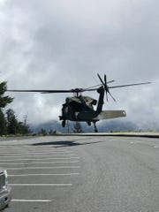 A Tennessee National Guard Blackhawk and Tennessee Highway Patrol helicopters were used in the week-long search for missing hiker Susan Clements.