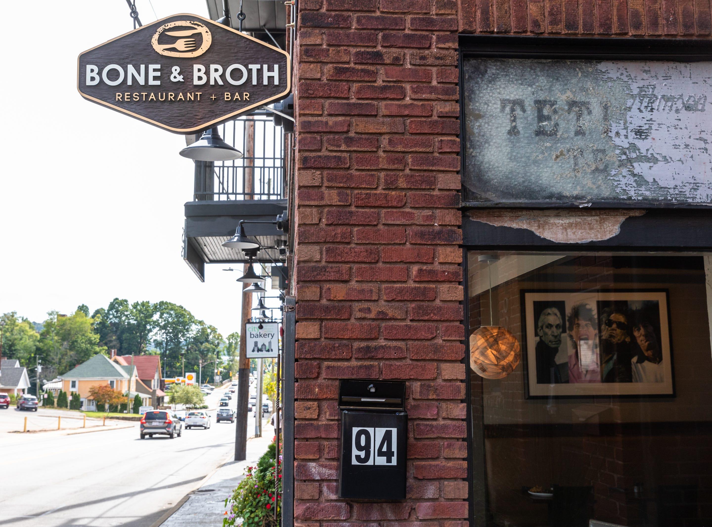 Bone and Broth restaurant on Charlotte Street.