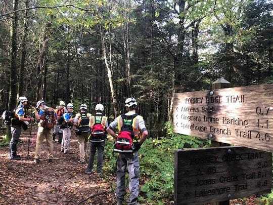About 175 search and rescue personnel searched 500 miles of trails in Great Smoky Mountains National Park for Susan Clements, who was missing for a week before she was found dead Oct. 2.