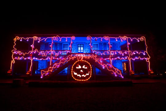 This Great Jack O'Lantern Blaze, pictured on Sept. 27, is located at Van Cortlandt Manor in Croton-on-Hudson.