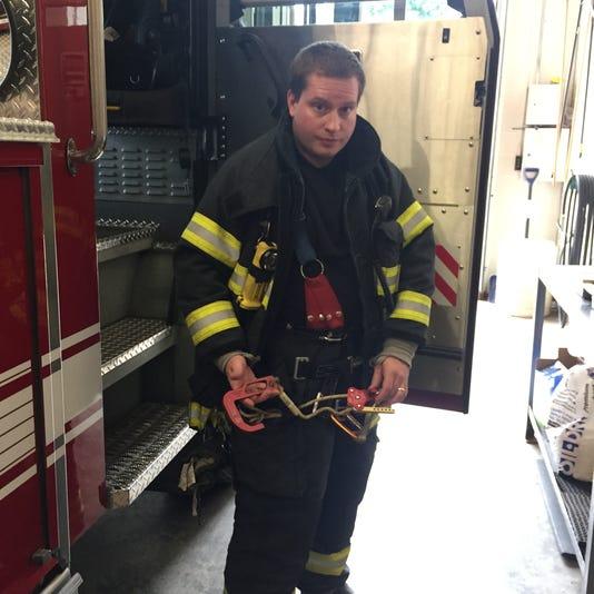 Johnson City firefighter