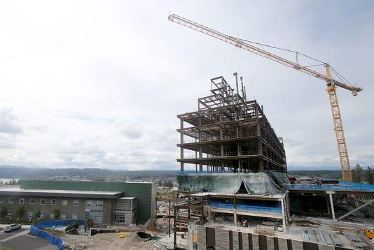 Harrison Hospital Construction 01