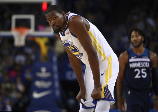 Kevin Durant will play in KeyArena on Friday for the first time since the Sonics left in 2008.