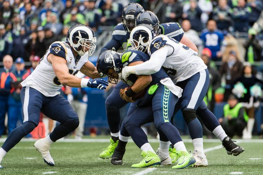 Nfl Los Angeles Rams At Seattle Seahawks