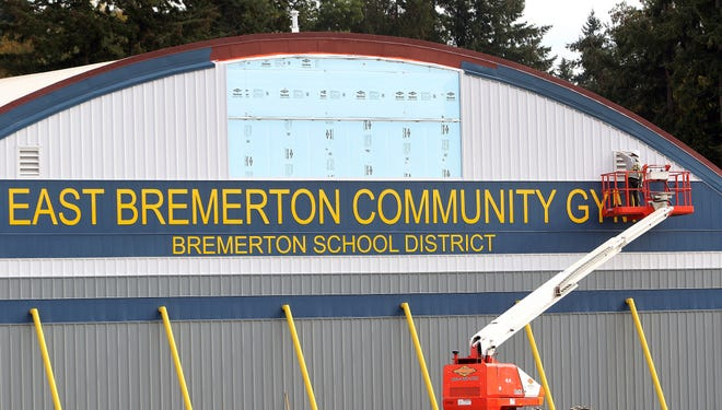 All that remains of the former East High is its gymnasium, now called the East Bremerton Community Gym.