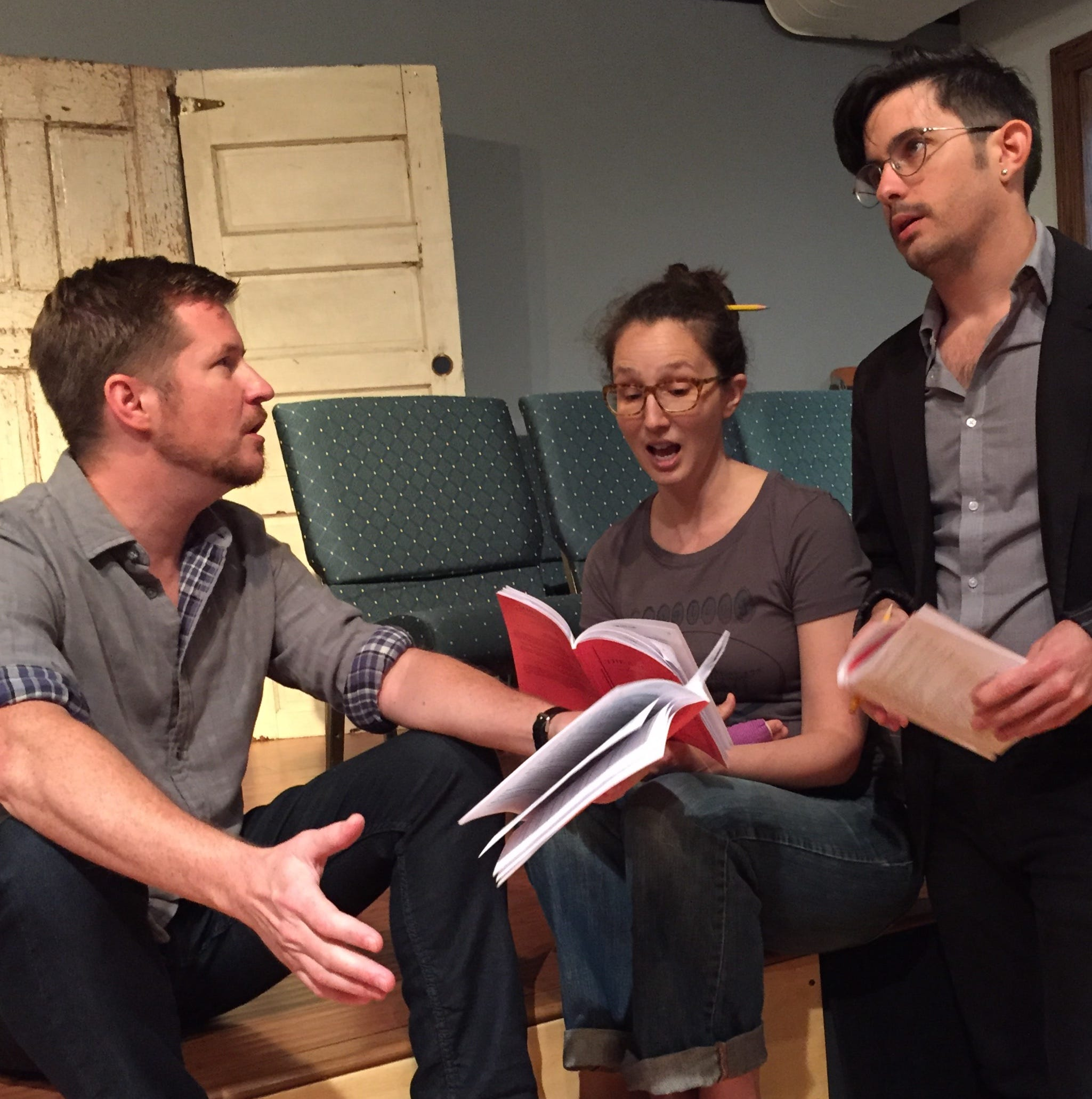 'The God Game' offers political insight at the Front Porch Theatre