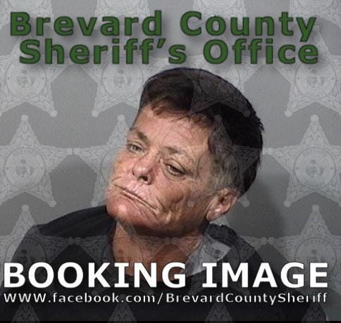 Kim Craig was arrested and charged with exposure of sexual organs.