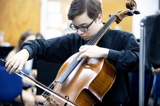 Isaac Moorman, 16, will be a featured soloist with the Central Florida Winds during The British Are Coming! on Sunday, October 14 at Riverside Presbyterian Church in Cocoa Beach.