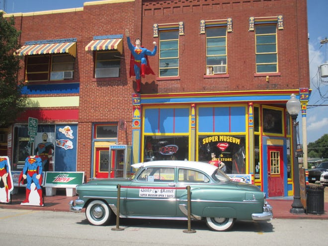 The Super Museum in Metropolis, Illinois is the largest museum dedicated to all things Superman.