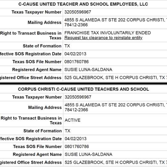 C-CAUSE United Teacher and School Employees, LLC is now going by a new name.