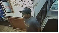 Cherry Hill police are seeking this man in connection with the robbery of a Dunkin Donuts early Thursday.