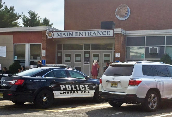 A lockdown prompted by a rumor about a gun brought anxious parents to Cherry Hill High School West on Thursday afternoon.