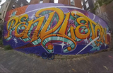 Take a 360 look at Pendleton's Bolivar Alley murals