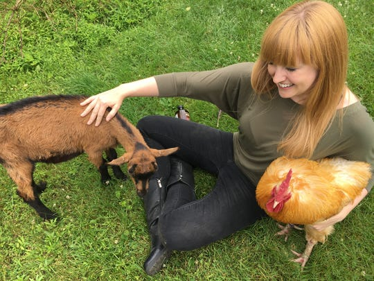 Providing a safe haven for rescued hens, roosters, pigs, goats, cows, horses, ducks, rabbits and turkeys since 2013, Tamerlaine FarmAnimal Sanctuary will host their annual Flocktoberfest — this time at their new 336 acre home at the historic Westfall Farm from 1 to 5 p.m. on Oct. 13.