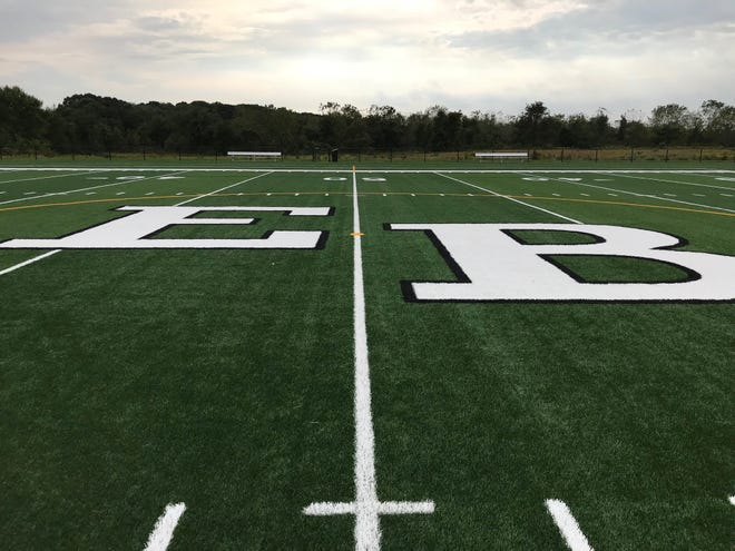 Athletes and others are being greeted by two upgradedturf fields at Heavenly Farms Park in East Brunswick.