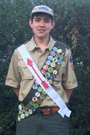 Nicholas (Nick) Couch, Life Scout with Troop #129 in Green Brook.