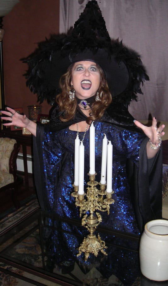 Actress Alisa Dupuy Witchy Woman